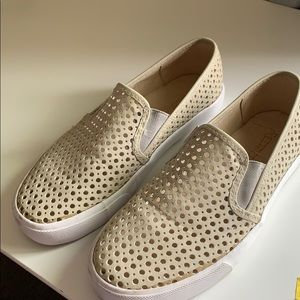 Restricted perforated sneakers